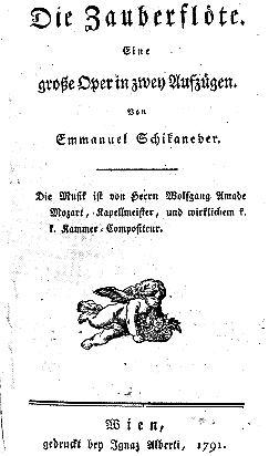 Title-Page Libretto